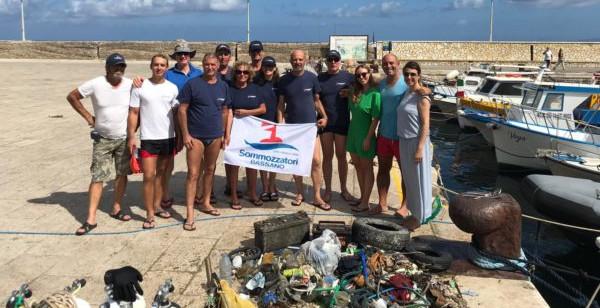 Ambiente: puliti da un gruppo di sommozzatori di Bassano i fondali dello scalo nuovo di Marettimo – ilSicilia.it