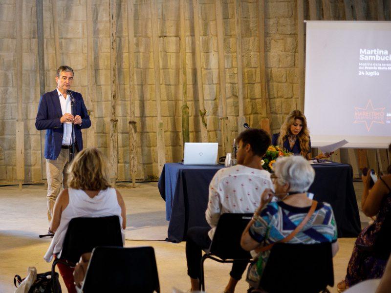 presentazione festival con Giorgio Rusconi